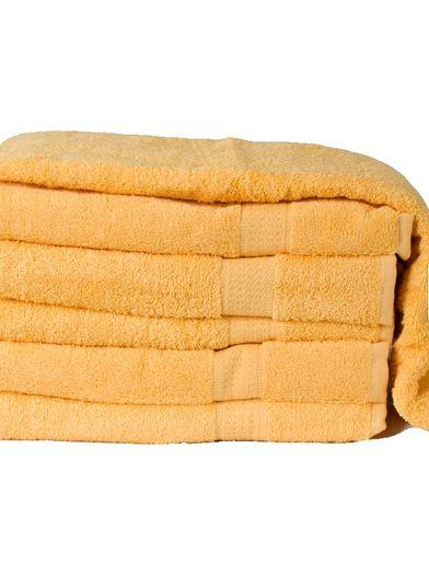 Homa fürdőlepedő sárga 70x140cm
